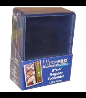 "Ultra Pro 3"" x 4"" Toploader (Pack of 25 pieces)"