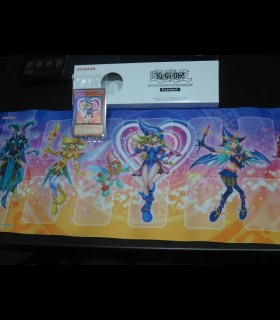 Movie Promo Dark Magician Girl + Playmat